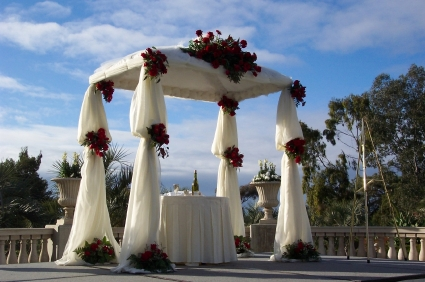 chuppah for marriage ceremony, Universal Life Church