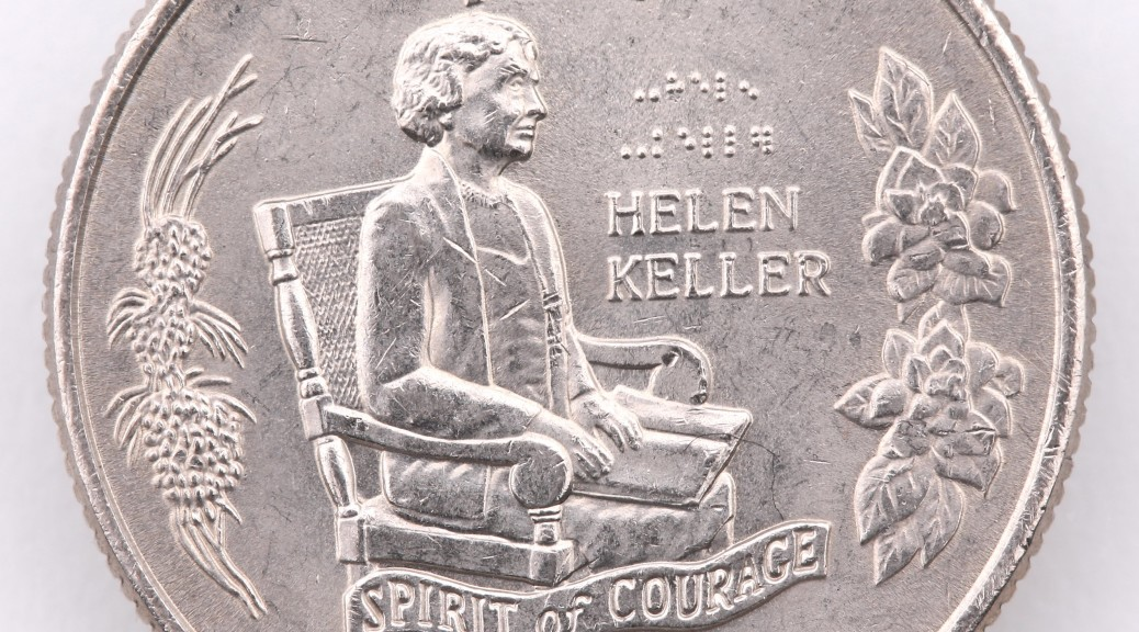 We honor Helen Keller and her contribution to society on Helen Keller Day