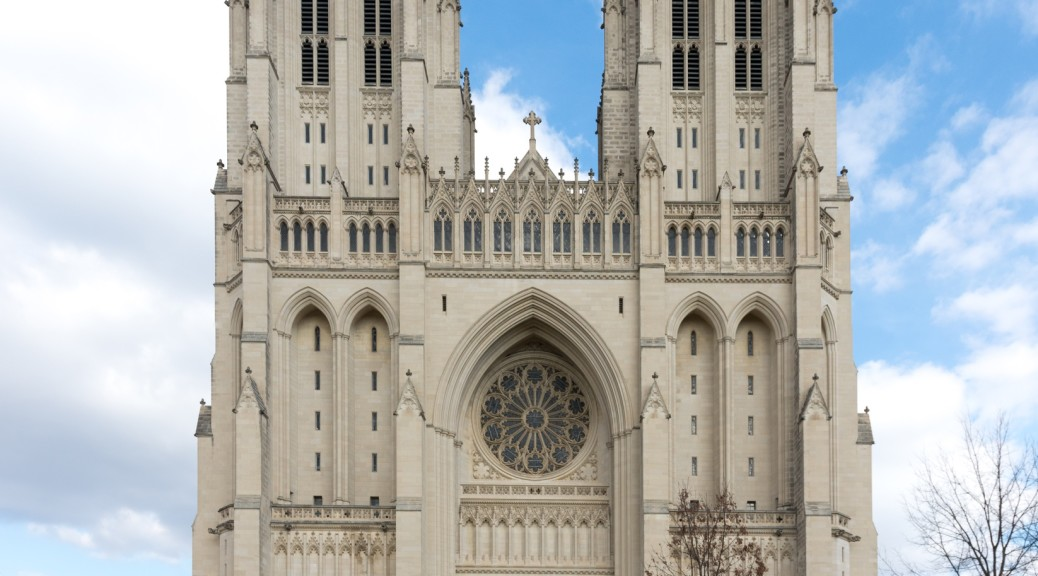 Washington National Cathedral in Washington DC is one Sacred site in North America.