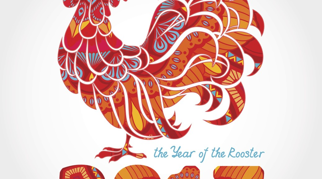 2017 Celebrate the year of the Rooster when you ring in the Chinese New Year.