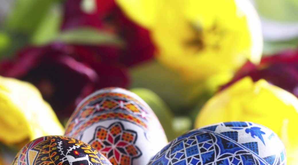 Eggs are Traditional symbols of celebration at the Spring Equinox.