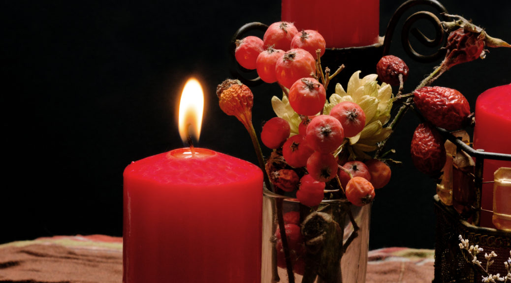 Candles are commonly used in British Traditional Wicca ceremonies.