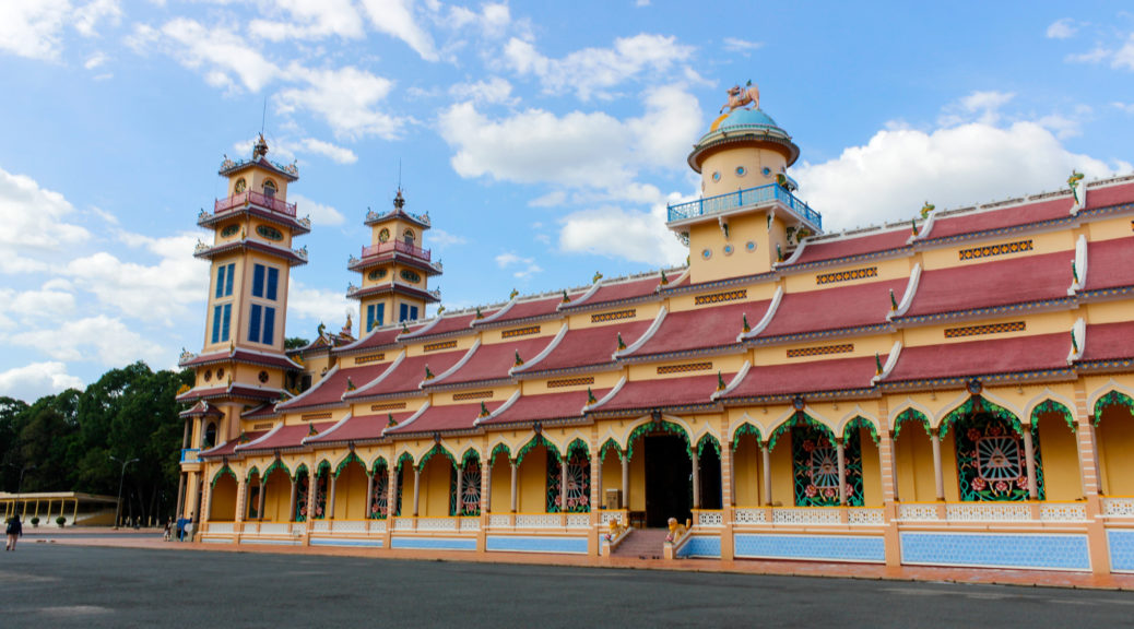 Cao Dai incorporates many attributes of the world's largest religions