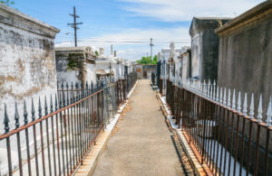 Marie Laveau, the Voodoo Queen's, final resting place.